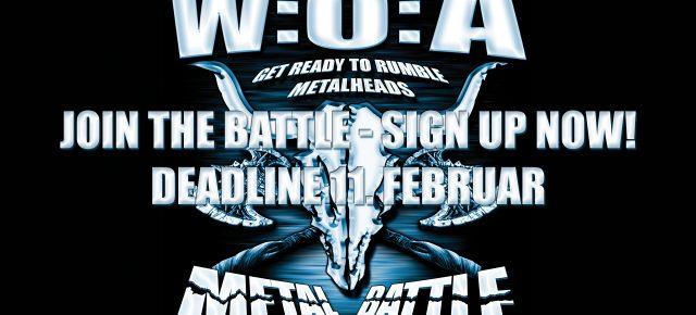 Wacken Metal Battle Danmark 2018 - Tilmelding
