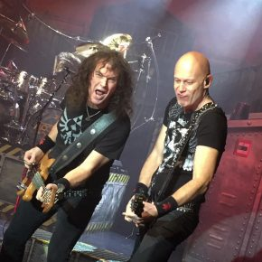 Accept + Night Demon // Store Vega 11/2 2018