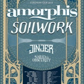 Amorphis og Soilwork til Danmark