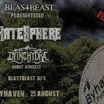 Blastbeast præsenterer: Hatesphere og Dying Hydra i Byhaven