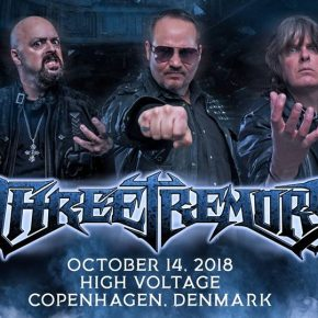 ***afsluttet***Vind billetter til The Three Tremors på High Voltage