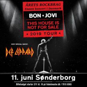 Bon Jovi & Def Leppard til Sønderborg