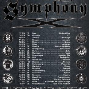 Symphony X til Danmark