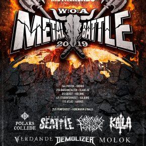 WOA Metal Battle DK 2019: de udvalgte bands