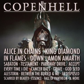 Alice In Chains, Sabaton, Cancer Bats m.fl. til Copenhell!