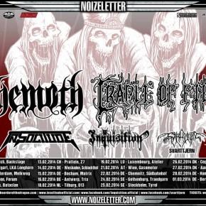 Behemoth og Cradle Of Filth til Danmark
