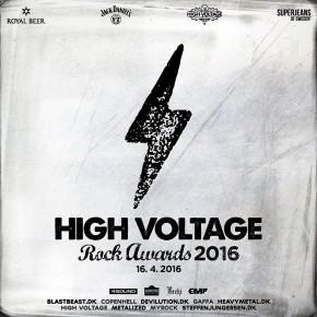 High Voltage Rock Awards er klar med line up!