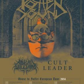***afsluttet***Vind billet til Rotten Sound + Cult Leader + Abigail Williams på Beta