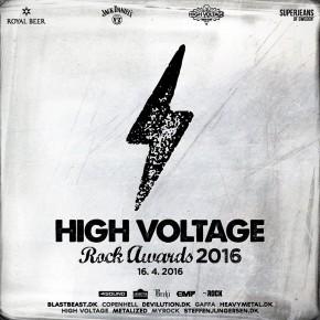 Optakt: High Voltage Rock Awards 2016