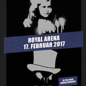 Dansk rock til Royal Arena