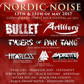 Nordic Noise 2017 er klar med line up!