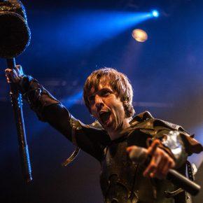 Hammerfall + Gloryhammer + Lancer // Amager Bio 8/2 2017