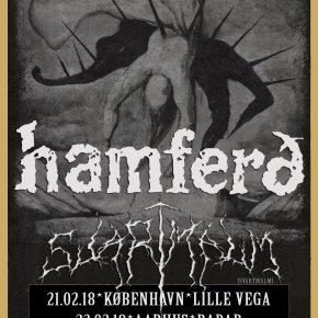 ***Afsluttet***Vind billetter til Hamferð og Svartmálm på Lille Vega
