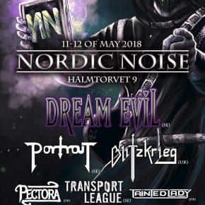 Dream Evil m.fl. til Nordic Noise 2018