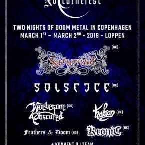 Solstice (UK) m.fl til Nocturnefest