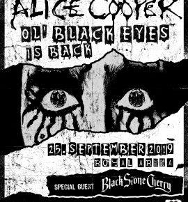 Alice Cooper & Black Stone Cherry til Royal Arena
